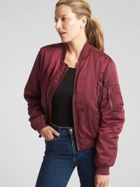 Classic Bomber Jacket at Gap