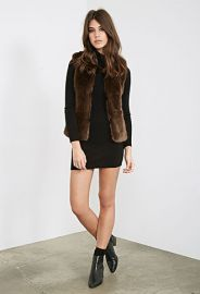 Classic Faux Fur Vest at Forever 21