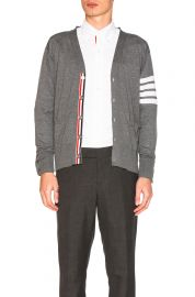 Classic Merino Cardigan by Thom Brown at Forward