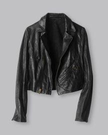 Classic Moto Jacket at Billy Reid
