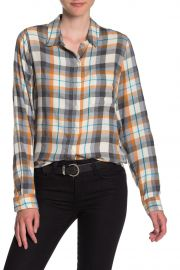 Classic One-Pocket Plaid Shirt by Lucky Brand at Nordstrom Rack