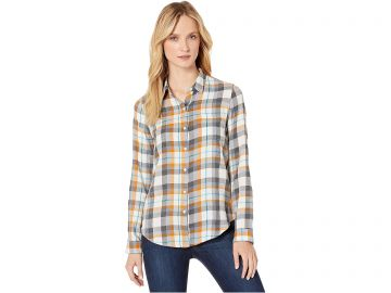 Classic One-Pocket Plaid Shirt by Lucky Brand at Zappos