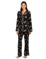 Classic PJs in bow print at Amazon