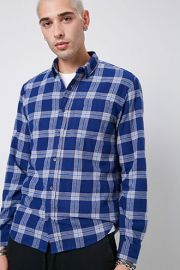 Classic Plaid Flannel Shirt at Forever 21