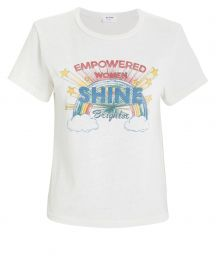 Classic Shine Graphic T-Shirt at Intermix