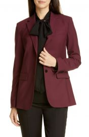 Classic Stretch Wool Jacket by Theory at Nordstrom