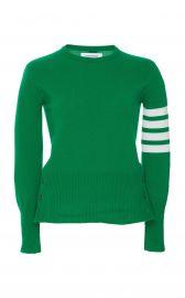 Classic Stripe-Detailed Cashmere Sweater at Moda Operandi