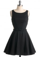 Classic Twist Dress in Black at ModCloth