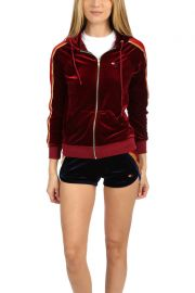 Classic Velvet Zip Hoodie by Aviator Nation at Blue and Cream