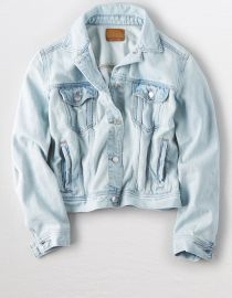Classic denim jacket at American Eagle