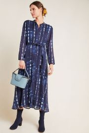 Cloth & Stone Bita Tie-Dyed Shirtdress at Anthropologie