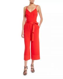 Cloud Sleeveless Jumpsuit w/ Tie Waist at Neiman Marcus