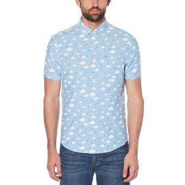 Cloud Print Shirt at Original Penguin