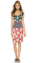 Clover Canyon Floral Sunrise Cap Sleeve Dress at Shopbop