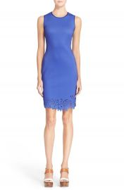 Clover Canyon Laser Cut Body-Con Sheath Dress at Nordstrom