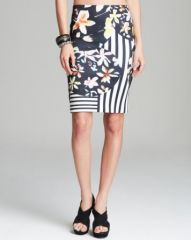 Clover Canyon Pencil Skirt - Floral Discs at Bloomingdales