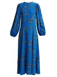 Cloverdale printed silk dress at Matches