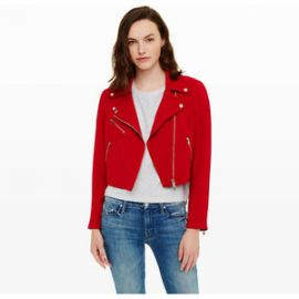 Club Monaco Averie Moto Jacket at Club Monaco