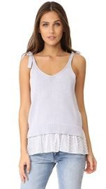 Club Monaco Emberlynn Sweater Tank at Shopbop