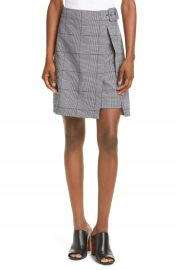 Club Monaco Faux Wrap Miniskirt   Nordstrom at Nordstrom