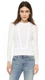 Club Monaco Martuska Fringe Sweater at Shopbop