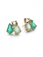 Cluster earrings by Kate Spade at Saks Fifth Avenue