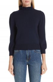 Co Mock Neck Wool Sweater at Nordstrom
