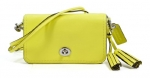 Coach legacy penny purse in yellow at Amazon