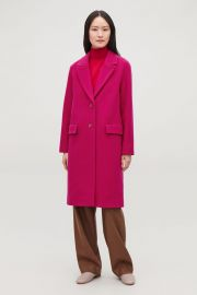 Coat with Oversized Lapels at COS
