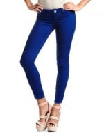 Cobalt blue jeans from Charlotte Russe at Charlotte Russe