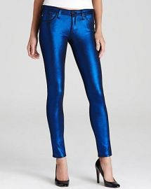Cobolt Metallic Jeans by Adriano Goldschmied at Bloomingdales