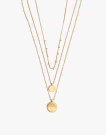 Coin Necklace Set MEDIA at Madewell
