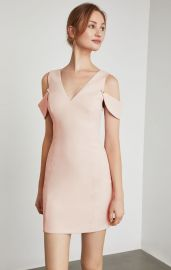 Cold Shoulder Mini Sheath Dress at Bcbgmaxazria
