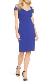 Cold Shoulder Sheath Dress by Eliza J at Nordstrom Rack