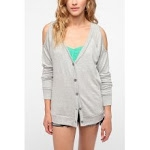 Cold shoulder cardigan at Urban Outfitters at Urban Outfitters