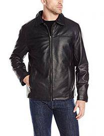 Cole Haan Signature Men s Faux-Leather Jacket at Amazon