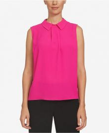 Collared Top by CeCe at Macys