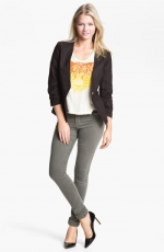 Collarless blazer by Gibson at Nordstrom