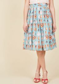 Collect Your Thoughts Midi SKirt at ModCloth