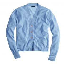 Collection Cashmere cardigan in blue at J. Crew