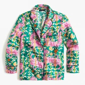 Collection Drake s For J Crew Pajama Top In Green Bengal Tiger at J. Crew