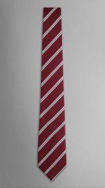 College stripe tie at Burberry