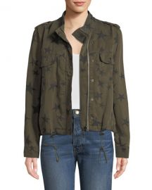 Collins Star-Print Utility Jacket at Bergdorf Goodman