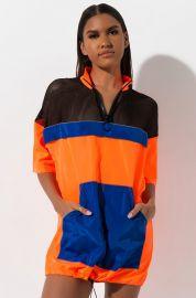 Color Block Mesh Cutout Mini Dress by Akira Label at Shop Akira