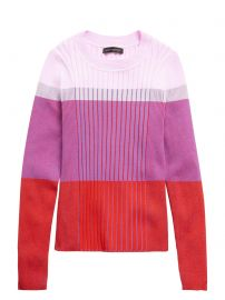 Color-Blocked Sweater Top by Banana Republic at Banana Republic