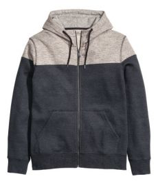 Color-block Hooded Jacket at H&M