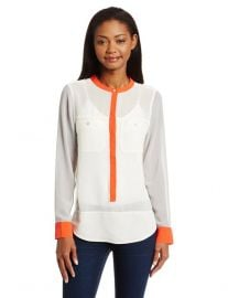 Colorblock Cafe Blouse by Sanctuary at Amazon