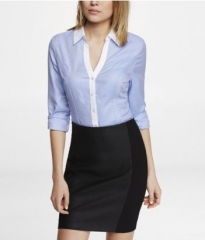 Colorblock Essential Shirt at Express