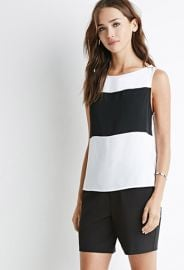 Colorblock-Paneled Top  Forever 21 - 2000132358 at Forever 21