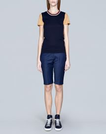 Colorblock Sweater Tee at M. Patmos